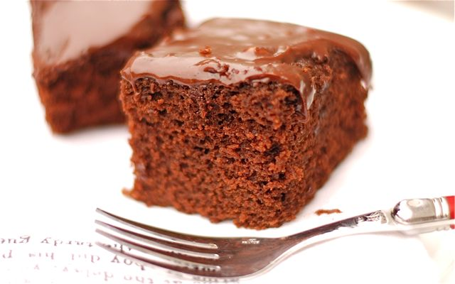 Mexican Chocolate Cake - The Naptime Chef