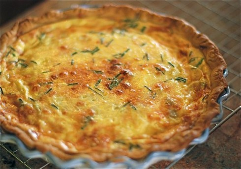 Bacon & Green Chili Quiche | The Naptime Chef