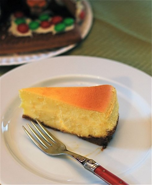 Simply Perfect Meyer Lemon Cheesecake with Gingersnap Crust {Naptime ...