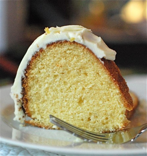 Eggnog Bundt Cake
