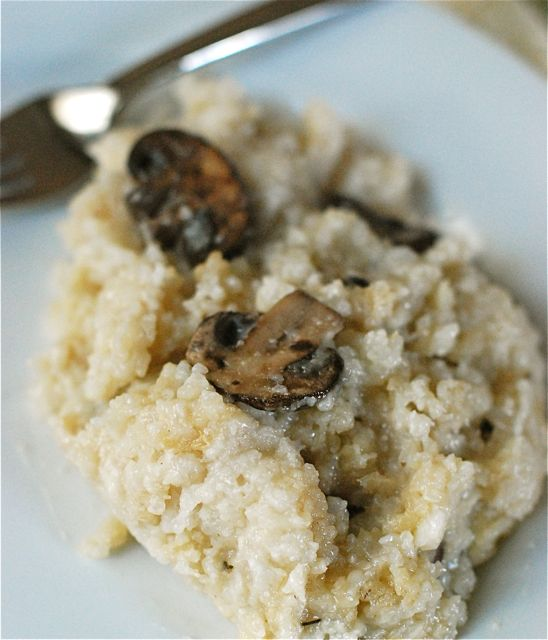 Slow-Cooker Week: Mushroom-Sage Risotto