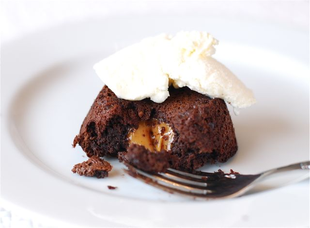 Chocolate Caramel Lava Cakes | The Naptime Chef