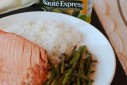 Lemon Pepper Salmon with Haricot Vert