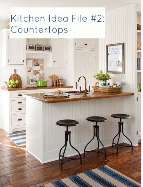 Kitchen Idea File Countertops