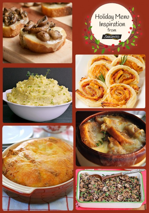 Sargento Holiday Menu Inspiration