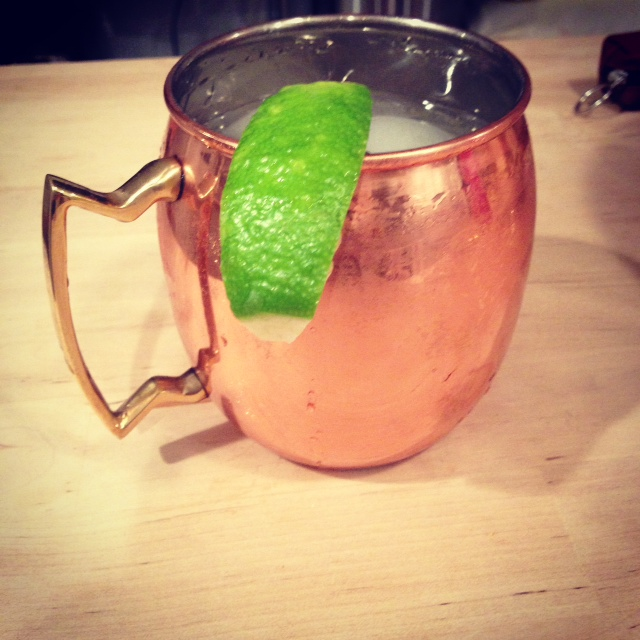 Good Winter Cocktail: The Moscow Mule