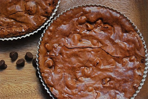 Hazelnut Brownie Tarts