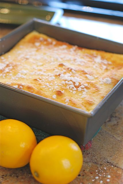 Meyer Lemon Pudding Cake | The Naptime Chef