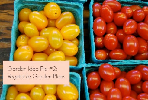 Vegetable Garden Plans | The Naptime Chef