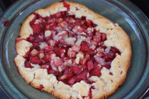 Strawberry Rhubarb Crostata | The Naptime Chef