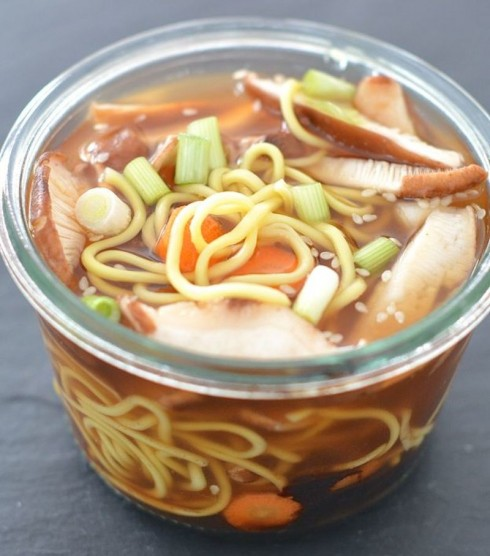 Ramen in a Jar | The Naptime Chef