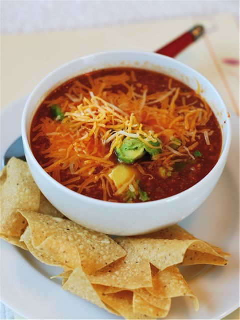 Slow Cooker Tortilla Soup | The Naptime Chef