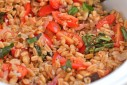 BLT Farro Salad | The Naptime Chef