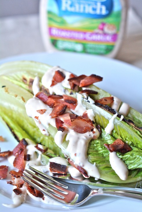Grilled Romaine Salad | The Naptime Chef