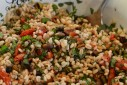 Slow-Roasted Tomato & Farro Salad | The Naptime Chef