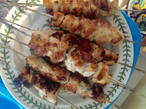 Lemon Chicken Kebobs | The Naptime Chef