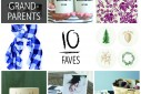 10 Faves: Holiday Gifts for Grandparents