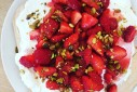 Strawberry Pistachio Pavlova | The Naptime Chef