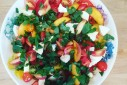 Peach Caprese Salad | The Naptime Chef