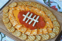 Football Cheese Platter | The Naptime Chef