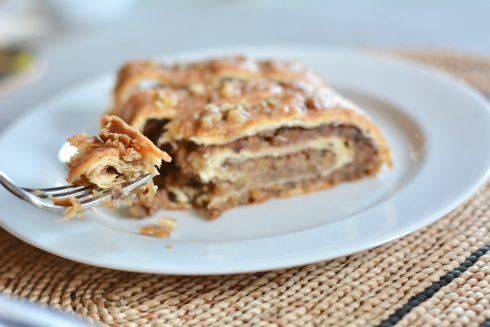Gingerbread House Nut Roll | The Naptime Chef
