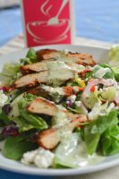 Grilled Chicken with Creamy Basil Dressing | The Naptime Chef