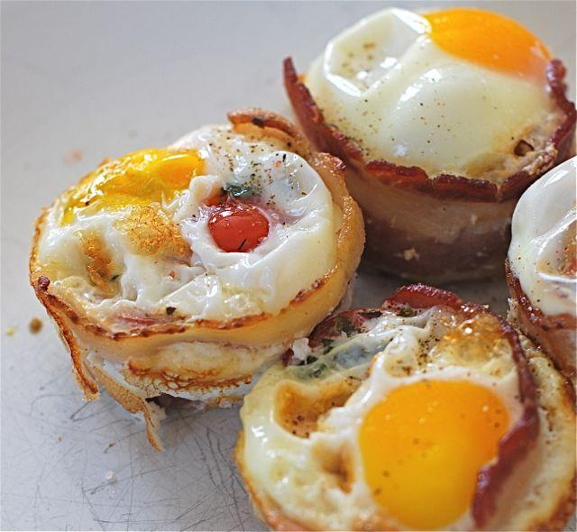Herbed Tomato Bacon Amp Egg Bites